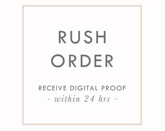 RUSH ORDERS by Arbor Grace Collections. Help! I need this print QUICK!