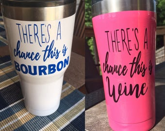 Theres a chance this is... wine, bourbon, beer, tequila