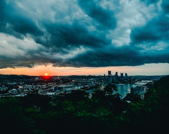 West End Overlook #3 // Pittsburgh Photography