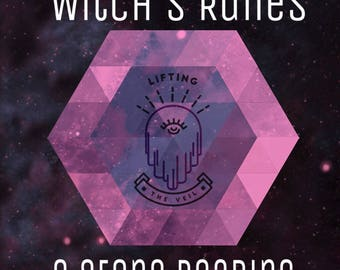 Witch's Runes 3 Stone Reading