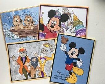 Disney Cards Set