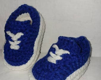 Crocheted Infant Baby Shoes