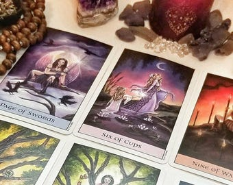 Psychic Mini Tarot Love Reading-15 minute Video Reading