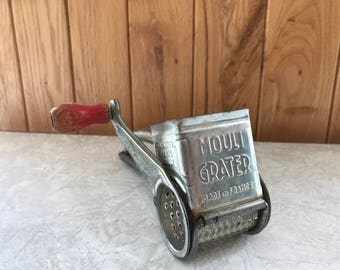 Vintage Mouli Cheese Grater