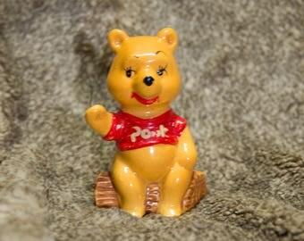 Vintage Winnie The Pooh figurine.