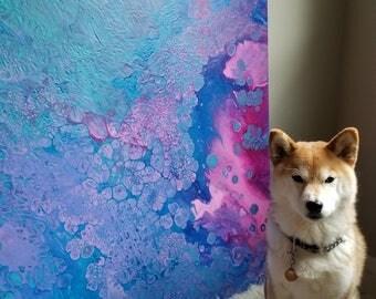 Fine art - original artwork - abstract art