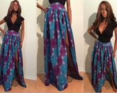 African Dress Ideas Summer Ankara maxi skirt for African Ladies size SMLXL2XL3XL4XLAfrican clothes wax cotton skirt