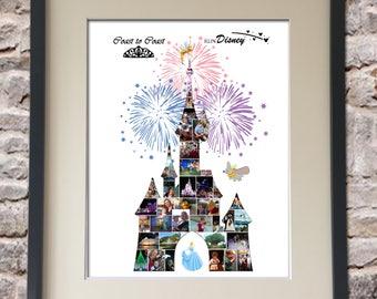 Run Disney Digital Collage