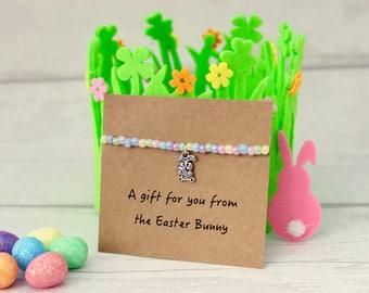 Easter Bunny Gift, Easter Egg Hunt, Girls Easter Gift, Easter Bracelet, Easter Jewellery, Girls Easter Bracelet, Girls Easter Jewellery