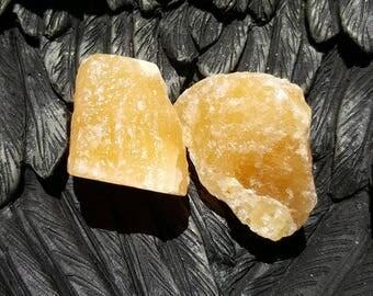Gorgeous Rough Orange Calcite