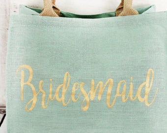 Bridesmaid gifts, bridesmaid totes, monogrammed bridesmaid tote, monogrammed  bridesmaid gifts