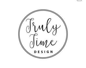 Circle Logo // Simple Logo // Premade Logo Design // Blog Logo // Business Branding // Creative Business Branding // Logo Circle