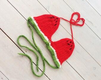 Watermelon Bikini Top