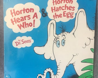 Horton Hears a Who & Horton Hatches the Egg Sealed Vinyl Dr Seuss