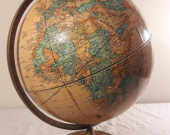 "Vintage 15"" Cram's Imperial World Globe"