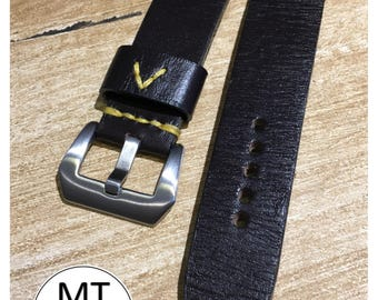 I sell Handmade Leather strap strap 22 mm