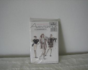 Vintage Clothing Pattern Avantgarde Multisize Pattern Skirts Pants Jackets Blouses Unopened V20847