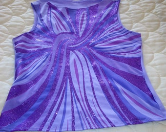 Very pretty Mauve / Purple Top size 14
