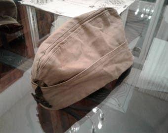 Military bags, headgear