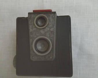 Caméra brownie wooden replica