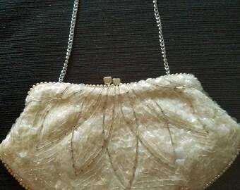 Iridescent Sequined Evening bag