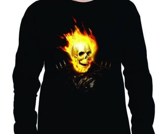 Long Sleeve Ghost Rider
