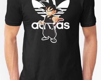 Dragon Ball Shirt,Dragon Ball T-shirt,Goku Shirt,Goku Adidbas Shirt