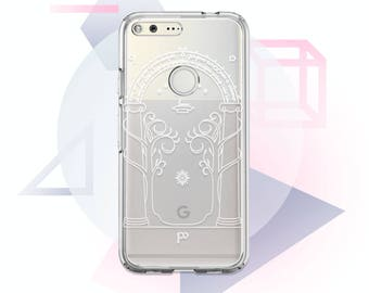Lord Of The Ring Google Case Clear Google Pixel Case Google Pixel XL Case Transparent Google Case Clear Google XL Case Pixel XL Case MC1006