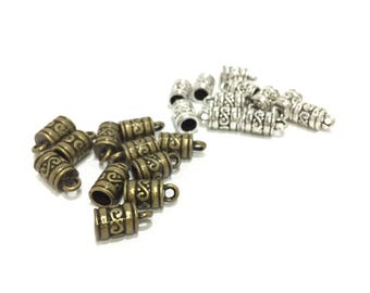 To Choose Silver/Bronze Ends_Inter 5mm_ Pack of 38 pcs