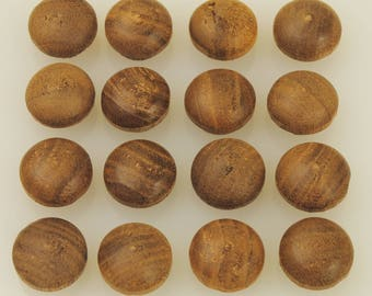 Walnut Wood 1/2 Inch Screw Hole Plugs 50 Pieces