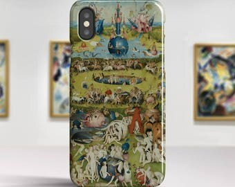 "Hieronymus Bosch ""The Garden of Earthly Delights"" iPhone X Case Art iPhone 8 Case iPhone 7 Plus Case iPhone 6s Case iPhone X TOUGH cases."