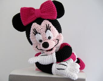 TO order plush mouse crochet