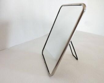 Vintage Barber mirror - Vintage small mirror