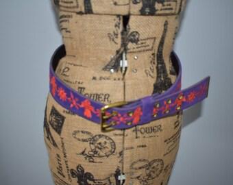 Belt vintage 1970's
