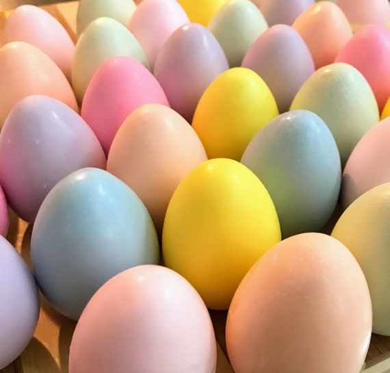 Soapy Easter Eggs - Hello Spring! - Chesilhurst Farm - Soap Farmacy - Pastel Soap Eggs - Scented or Unscented Soap