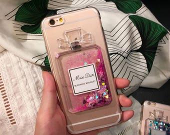 Perfume Liquid Case For iPhone 7, Liquid case for iPhone 7, iPhone 7plus case Perfume, iPhone 7 Plus case Perfume