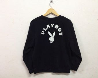 Playboy Big Logo Faux Fury Sweatshirt