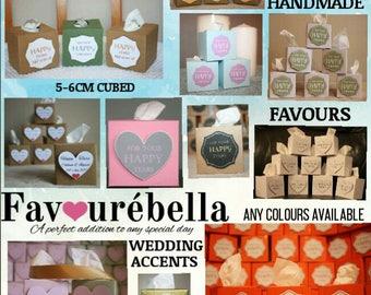 Wedding favours tissue