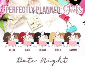 029 | Date Night | Planner Girls Planner Stickers