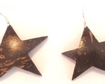 "Earrings ""follow the Star"""