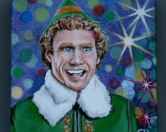 Buddy the Elf portrait