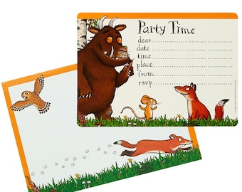 The Gruffalo - Party Invitation Cards