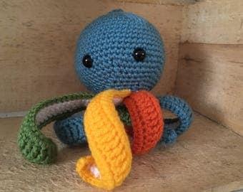 Multicolor octopus
