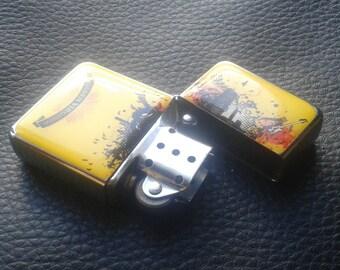 2 Golden Virginia Lighters