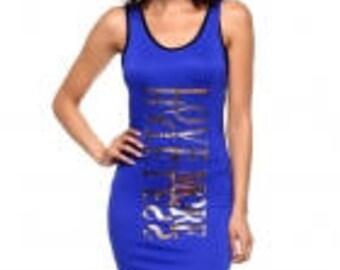 Blue Tank Dress