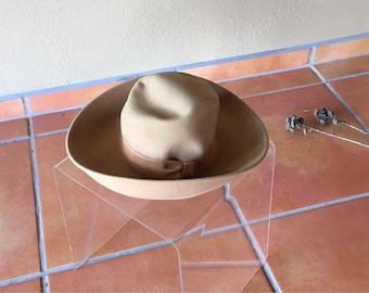 Vintage 70s Halston Hat