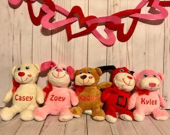 Personalized Valentine's Plush