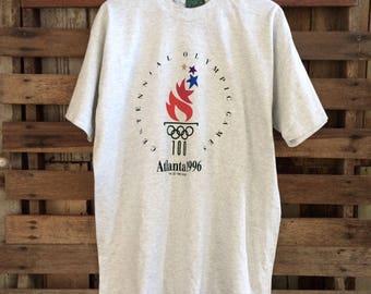 Vintage 1996 olympics atlanta games biglogo shirt !