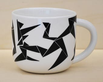 Breakfast Bowl black geometry model