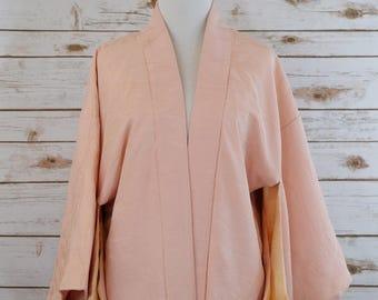 Vintage Silk Haori Kimono